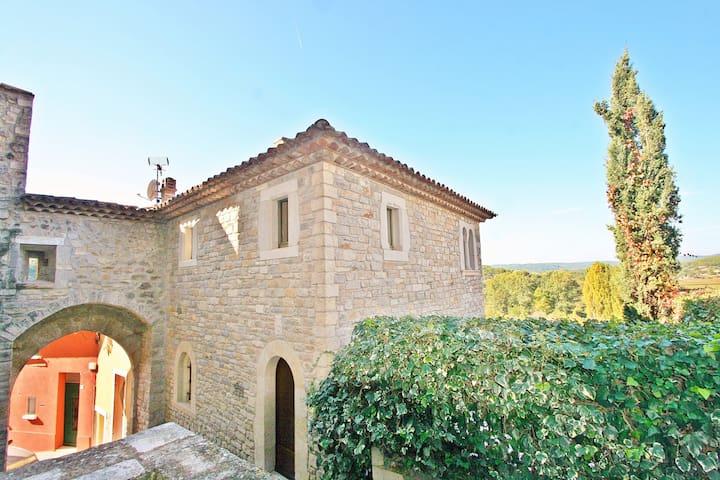 Le Donjon avec vue sur la Provence Verte - Carcès - House