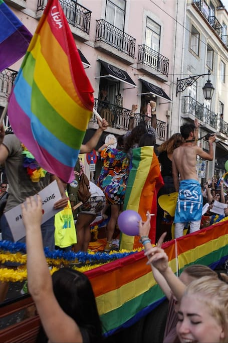 Gay Pride in Lisbon