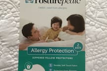 We Use Allergy Protection Pillow Covers