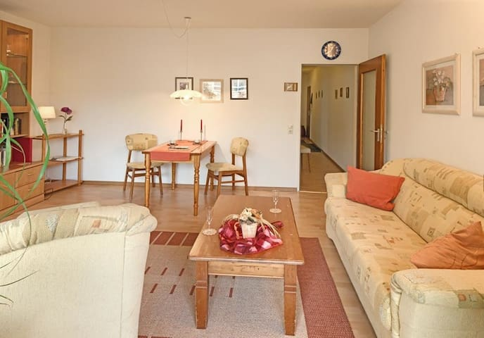 Appartement am Kurpark/Maier-Ludewig, (Bad Krozingen), Ferienwohnung 60qm, 1 Schlafzimmer, 1 Wohn-/Schlafzimmer, max. 3 Personen