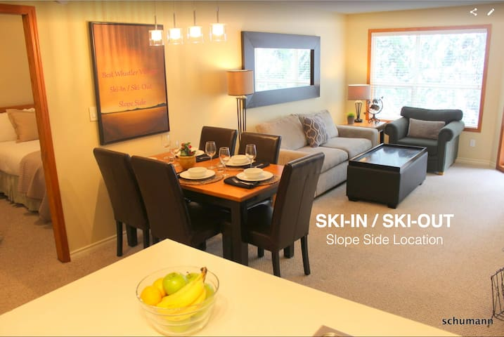 Best Whistler Village 2 Bdrm Luxury Ski-In Ski-Out