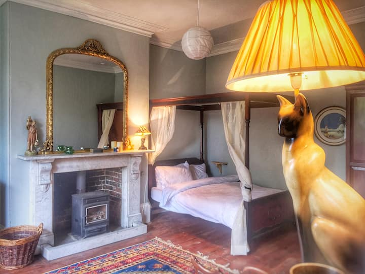 Beautiful period room in apartment in Bridport