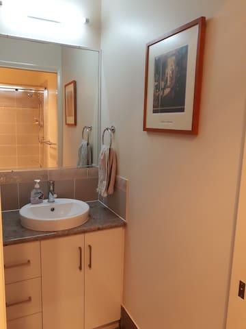basin off second bedroom