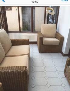 Room with 2 single beds in Navan home. Free WiFi