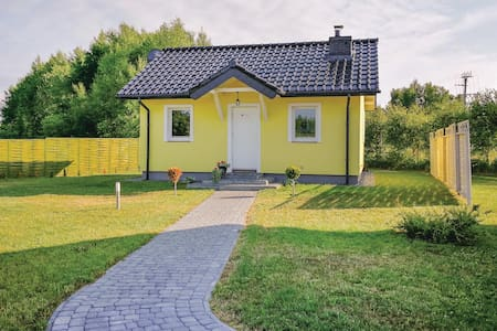 Holiday cottage with 2 bedrooms on 42m² in Dabki