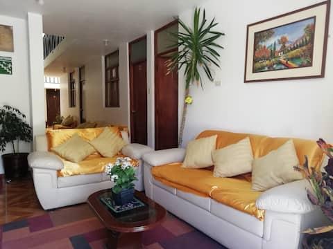 Hotel Maravillas del Colca, bonito y acogedor.