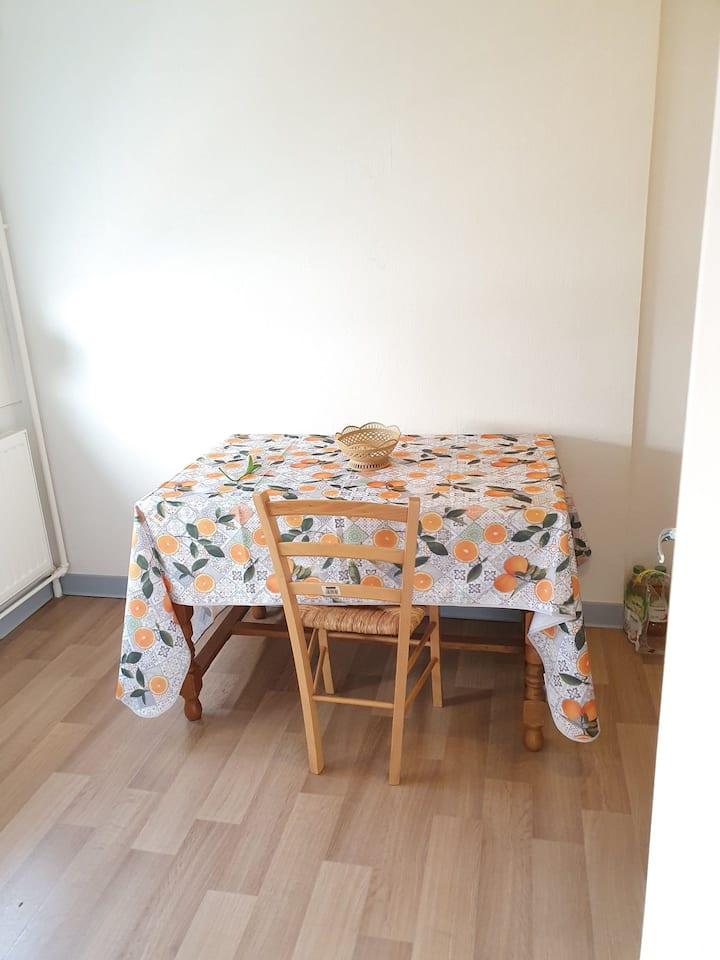 Appartement cozy à 5 min de l'arrêt de tramway