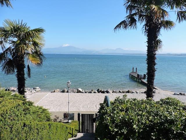 APARTMENT lakefront San Benedetto di Lugana - Peschiera del Garda - Leilighet