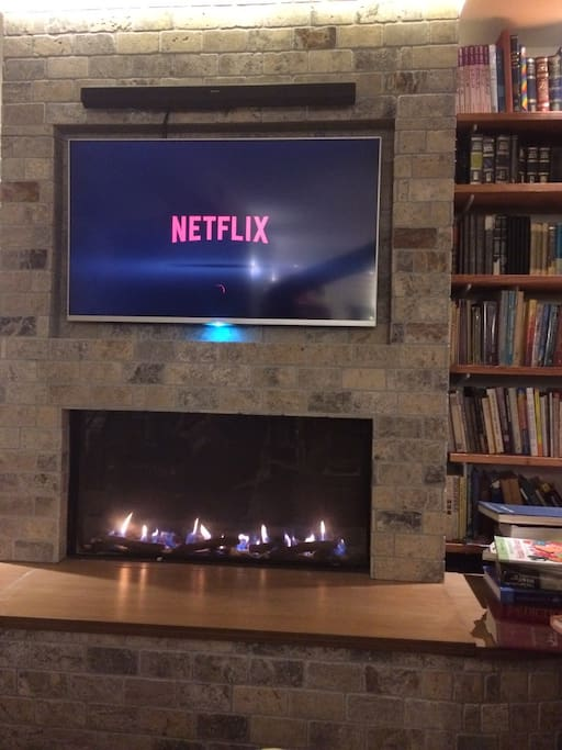 Sony Bravia Smart Screen and soundbar with Netflix  (both wifi and ethernet cable)