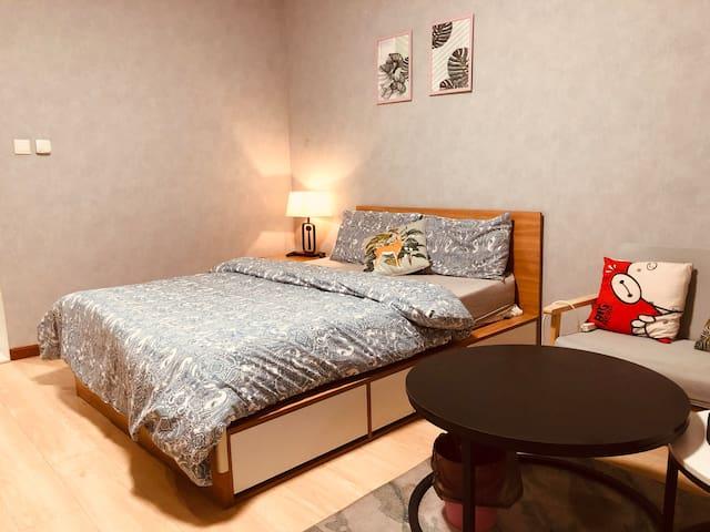 酒仙桥/798艺术区/恒通商务园/温馨浪漫家庭大一居