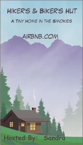 COMING SOON.Hiker's & Biker's Hut-Tiny home w/loft