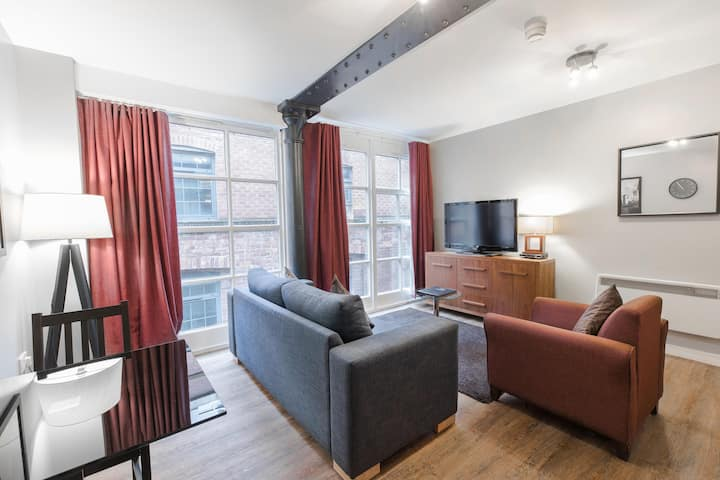 Two Bedroom Apartment With Sofa Bed