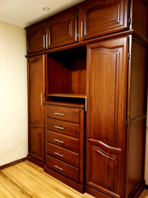 Armoire Closet in Master Bedroom