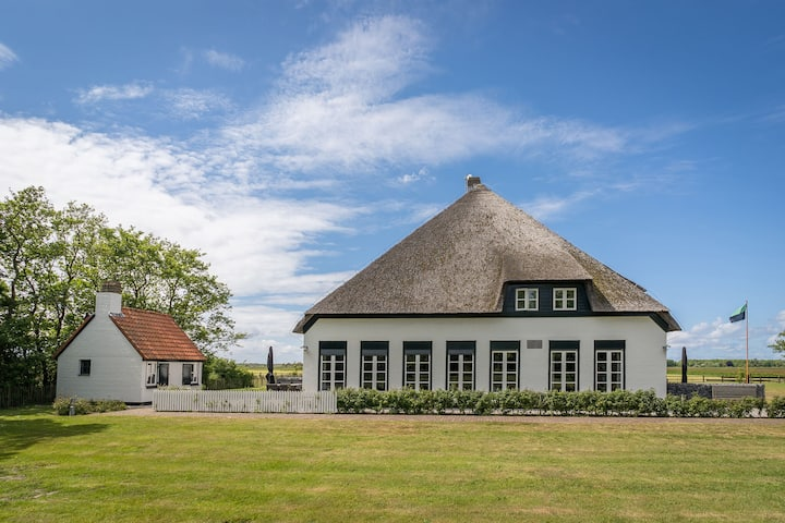Spacious Farmhouse in Dutch coast, Texel with Garden