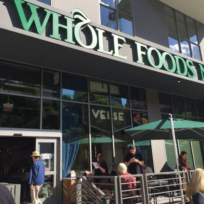 Whole Foods within walking Distance