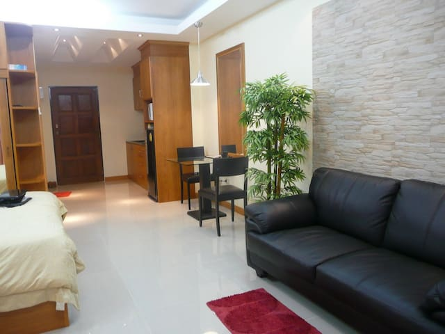 Apartment  is nicely and fully  furnished - Muang Pattaya - Apto. en complejo residencial
