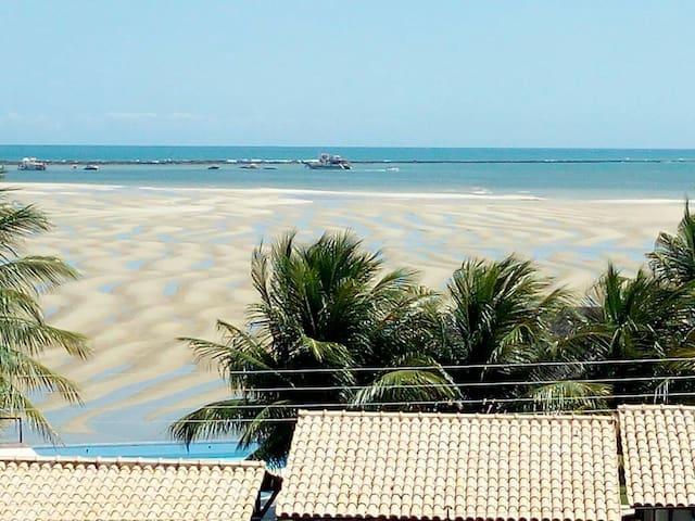 Apartamento em frente ao mar praia das conchas 13B