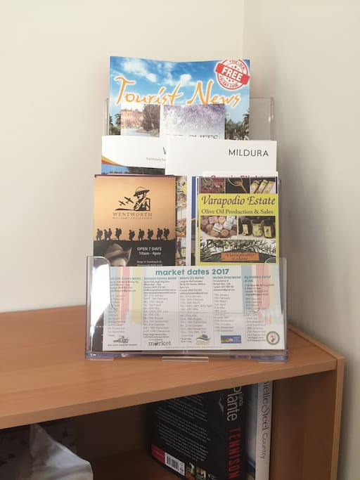 Tourist Information Available