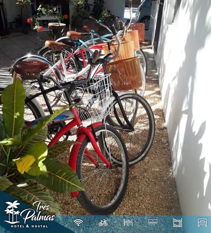 ★ LOFT+FREE BREAKFAST+TRIPLE ROOM+BICICLE RENT★