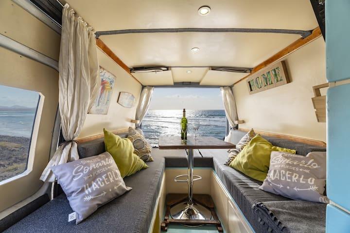 CamperVan con Baño dentro ,WIFI,Placa Solar