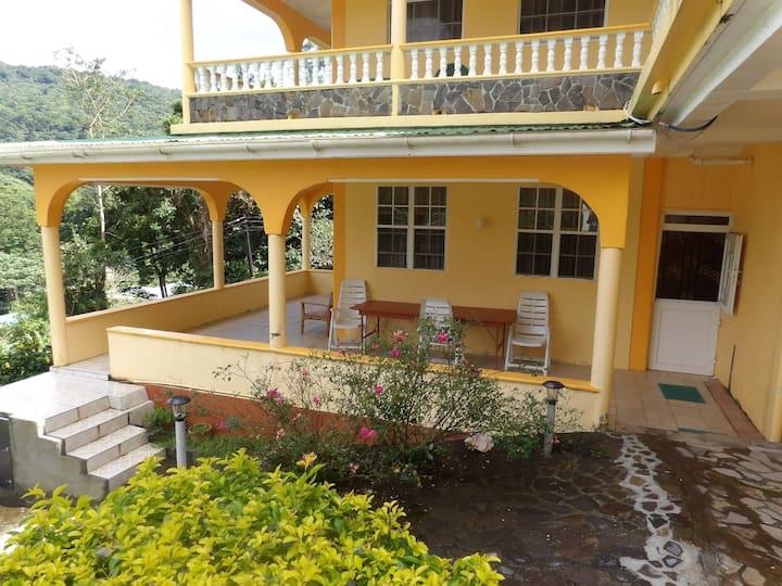 Hilltop View, Sylvania,Comonwealth of Dominica