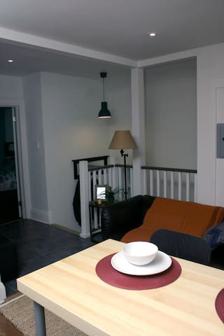 Cozy 2 bedroom apartment + balcony - Toronto - Apartament