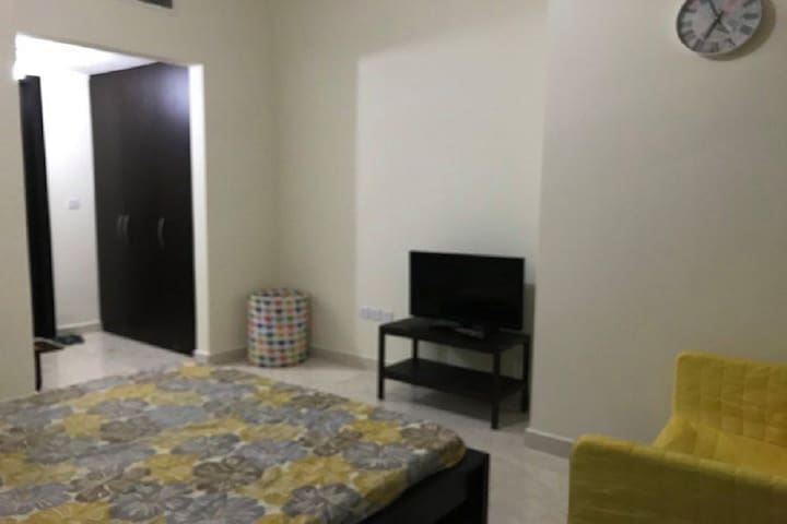 Master Bedroom with Parking for Rent in Al Reem