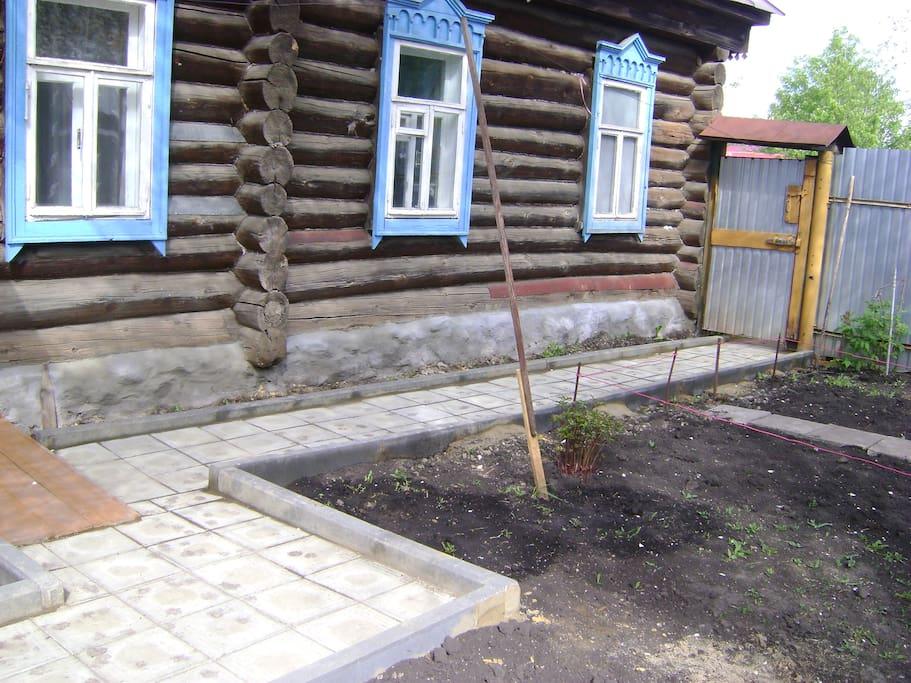 Внутренния двор