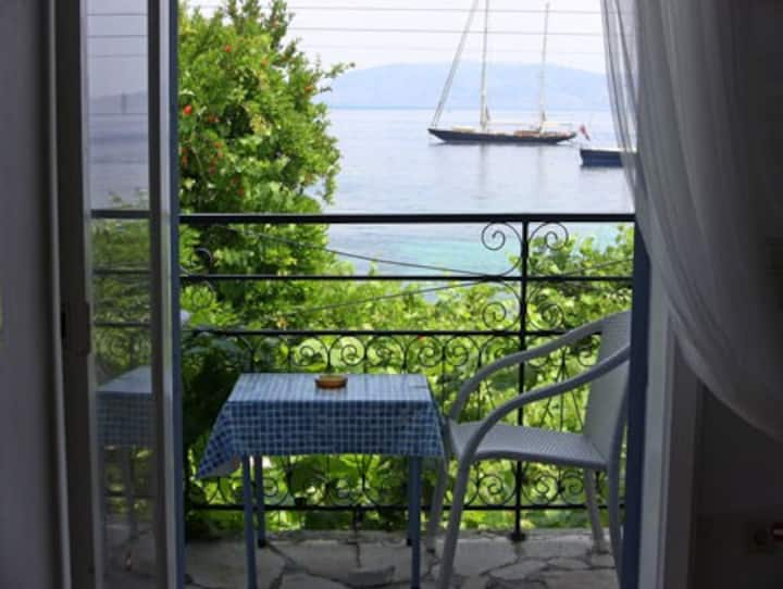 Sea Front apartments in Kalami Corfu