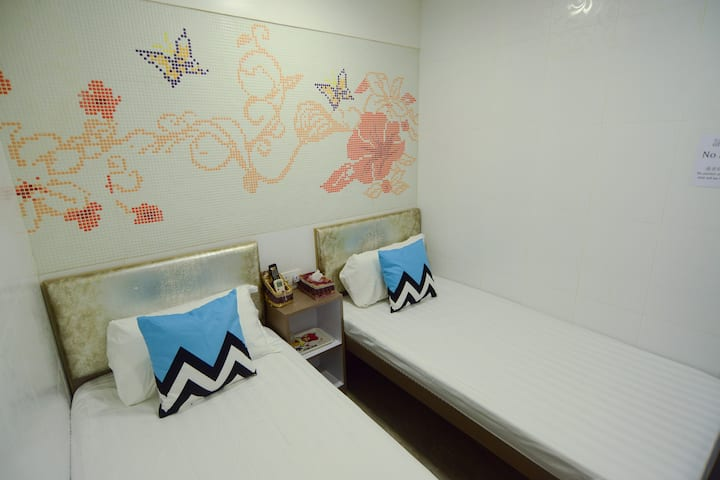 Twin Room (2 Guests) Near Mongkok MTR
