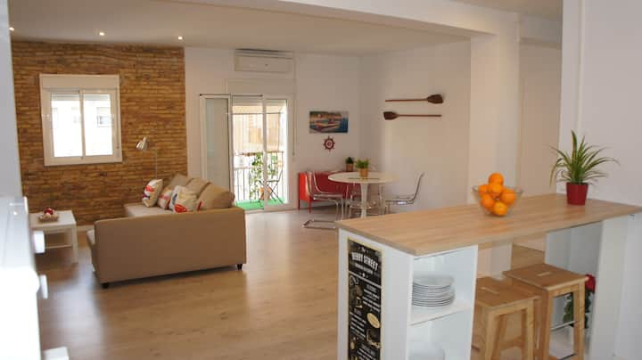 Amazing LOFT- APARTMENT near to the Beach -Playa