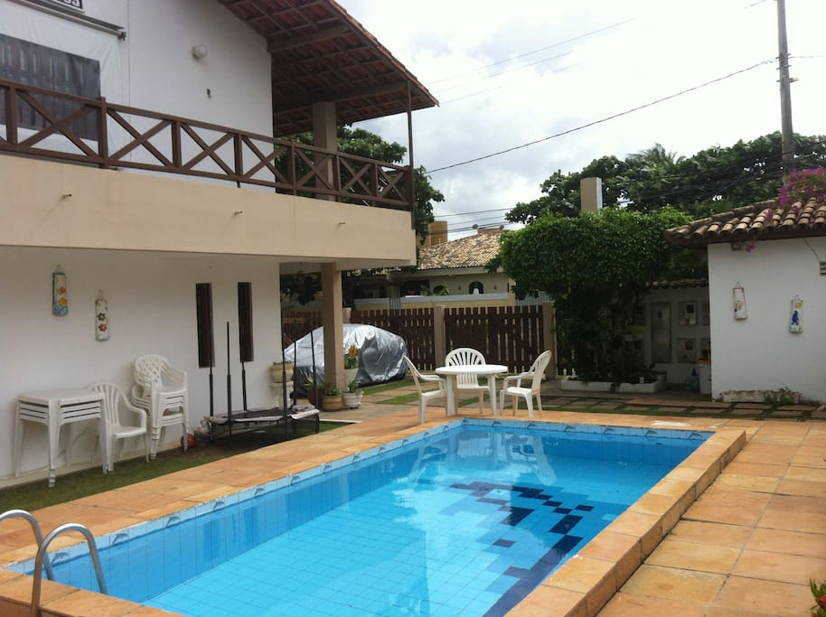 Pool area / área da pscina