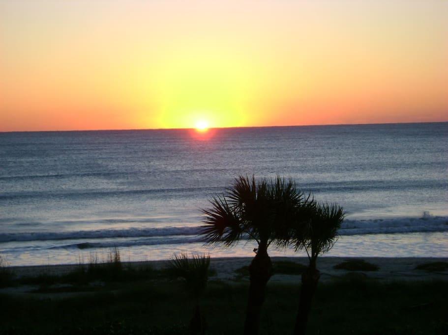 Beautiful Beachfront view