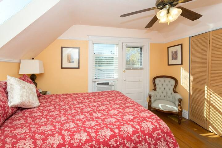 Sunny room in historic home