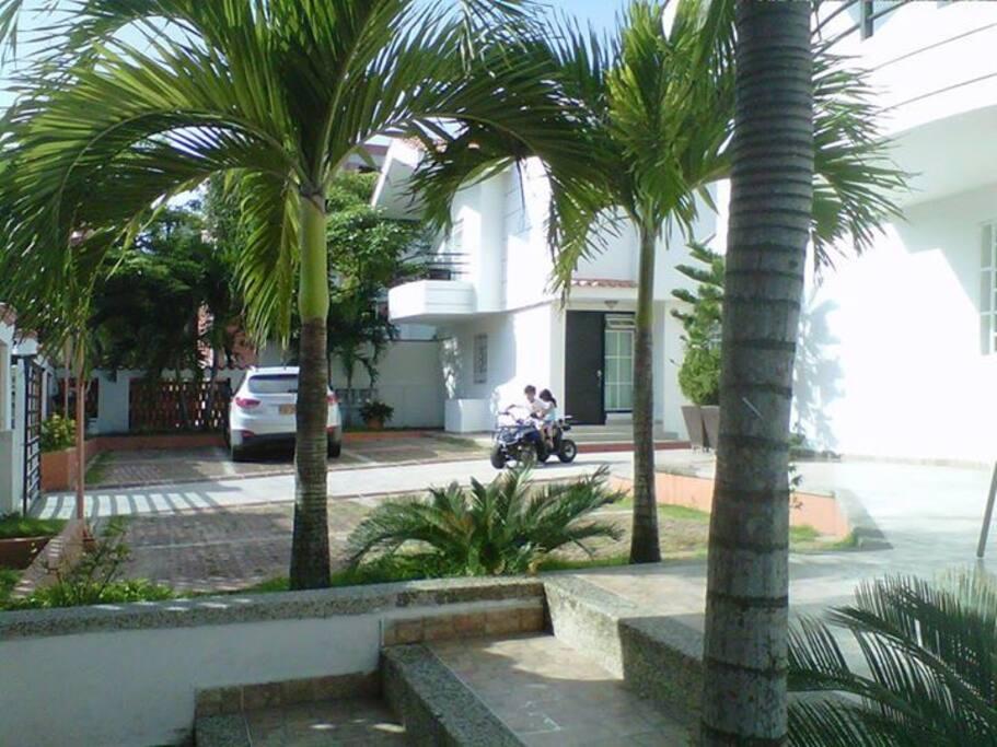 Areas comunes del conjunto residencial