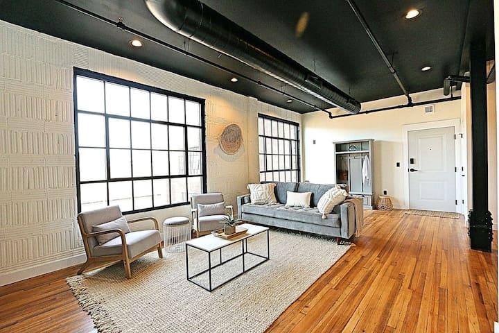 New York Inspired Industrial Loft