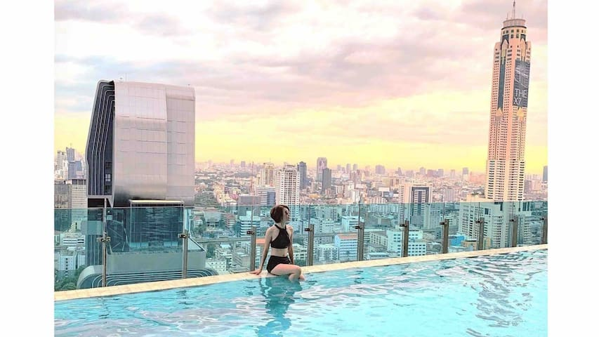 Luxury condo in Bangkok city center/Ratchathewi