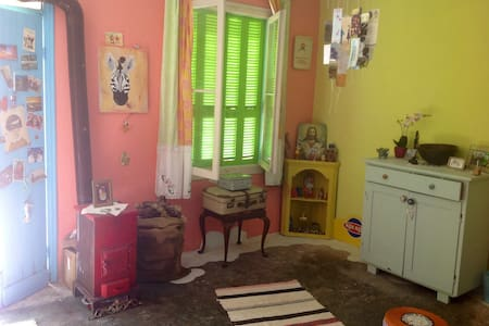 small character house in greek mountain village - Zakinthos