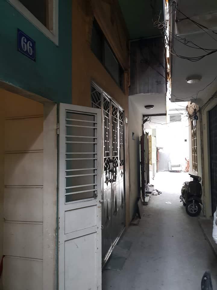 Nhà 04 tầng biệt lập tại trung tâm Hải Phòng