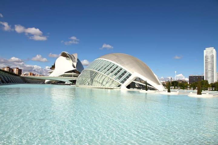 Apt Nuevo! Junto al Oceanográfic - Valencia - Byt