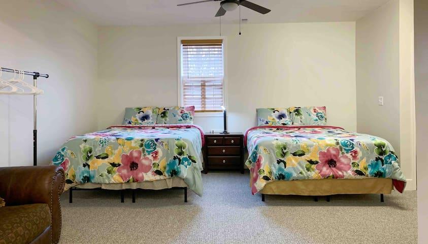 Master bedroom in upscale Glen Allen neighborhood.