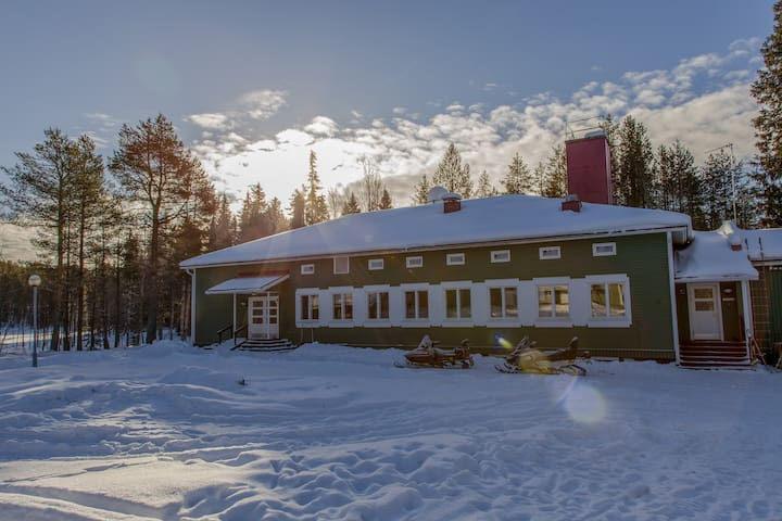 Taiga School, Very suitable as group accommodation
