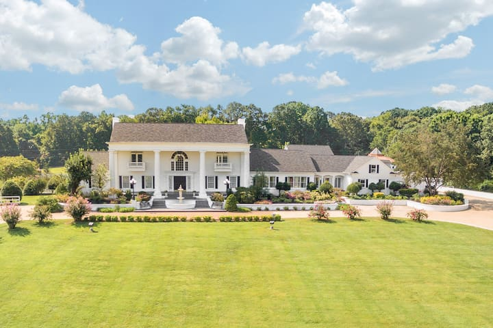 21,000 Sq Ft Luxury Southern Mansion and Estate
