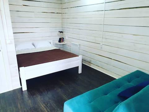 Уютные домики на Аршане :)