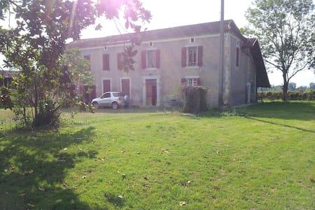 Maison de campagne  prés de  Marciac  à St Justin - Saint-Justin