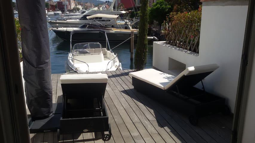 terrasse canal