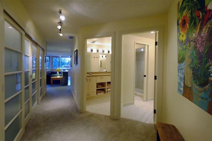 HEART of Whistler Village suite