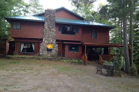 Mockesair Lodge B&B Room 3 of 6  Land O Lakes, WI