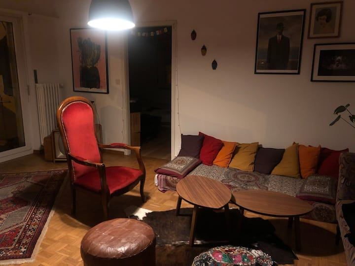 1 room + living room appartment in Moutier