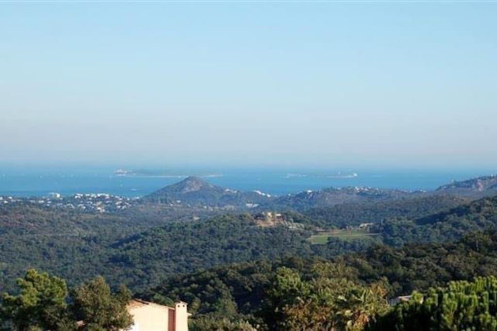 View from all levels, Bay de Cannes, Mandelieu La Napoule, Parc de L'Esterel